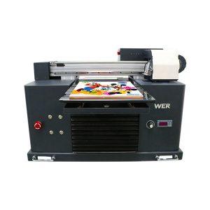 Specifikace Použití: Typ tiskárny Typ desky: Plochá Tiskárna Stav: Nový Rozměry (L * W * H): 65 * 47 * 43 CM Hmotnost: 62 kg Automatická třída: Automatické napětí: AC220 / 110V Záruka: 1 rok Velikost tisku: 16,5x30 CM , A4 SIZE Typ inkoustu: LED UV inkoust produkty název: Malá tiskárna A4 Velikost Digitální tiskové stroje UV Flatbed tiskárny Inkoust: LED UV inkoust Tisk Výška: 0-50mm Systém inkoustu: systém CISS Inkoustové barvy: CMYKWW Počet trysek: 90 * 6 = 540 Software pro tisk: WINDOWS SYSTEM EXCEPT WIN 8 Voltage :: AC220 / 110V Hrubý výkon: 30W