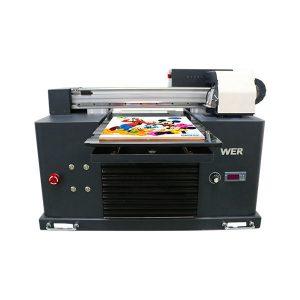 a3 velikost plně automatické 4 barvy dx5 tisková hlava mini uv tiskárna dtg uv flatbe