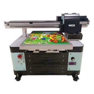 12 barev inkjet a2 automatické tx6090 uv tiskárna s plochou obrazovkou
