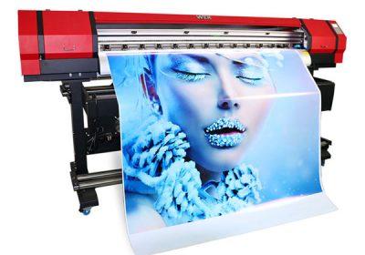 1,6 m venkovní vnitřní eco solventní malá PVC vinylová tiskárna