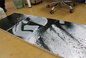Billboard potištěný velkoformátovou UV tiskárnou WER-G2513UV 2