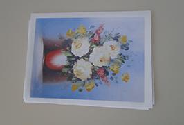Olej Plátno s rozlišením 2,5 m (8 stop) eco solventní tiskárna WER-ES2502