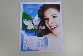 PVC banner vytištěný 3,2 m (10 stop) eco solventní tiskárnou WER-ES3201 3