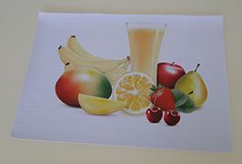 PVC banner vytištěný 3,2 m (10 stop) eco solventní tiskárnou WER-ES3201