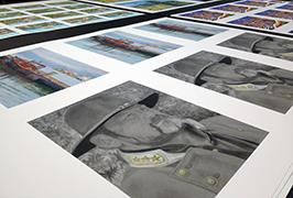 Fotografický papír vytištěný na 1,8 m (6 stop) eco solventní tiskárně WER-ES1802 2
