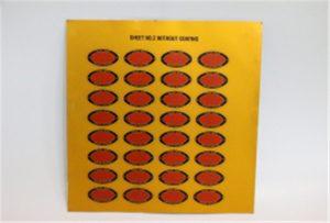 Tisk vzorku kovu na UV tiskárně A3 WER-E2000UV