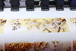 Samolepicí vinylová tisková tiskárna s tiskem 1,8 m (6 stop) eco solventní tiskárna WER-ES1802