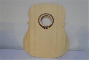 Dřevěný kytarový vzorek z tiskáren A2 velikosti uv WER-DD4290UV